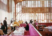 American Restaurant in Kansas City designed by Warren Platner