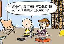 peanuts rocking chair