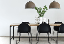 great danes dining area