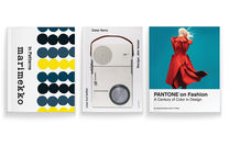 """Marimekko: In Patterns"", ""Less but Better"" by Dieter Rams, and ""Pantone on Fashion: A Century of Color in Design"" by Leatrice Eiseman and E.P. Cutler"
