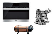 Miele products through the years.