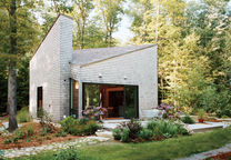 back to the garden rhode island cottage small space facade landscaping