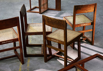 chandigarh sidebar chair made of teak structure cane work