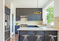 planar and simple chicago farmhouse addition kitchen mutina cabinets tiles pella window kohler faucet