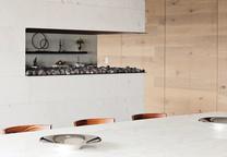 modern houses we love dining room marble walnut chandelier