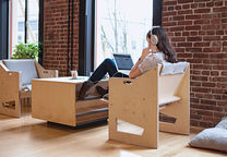 work it out airbnb goof mod portland office furniture laptop based work