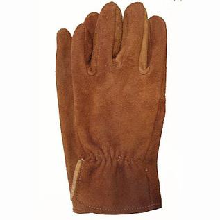 Brown sullivan leather gloves