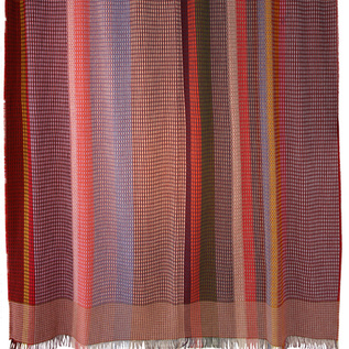 multicolored bloomsbury weave throw