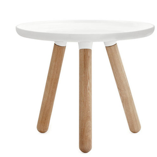 Modern White end table