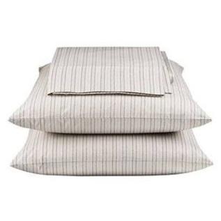 Menswear striped sheets by Thomas O'brien