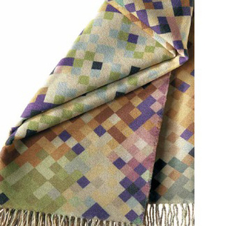 Wool-Polyester Throw by Missoni Home