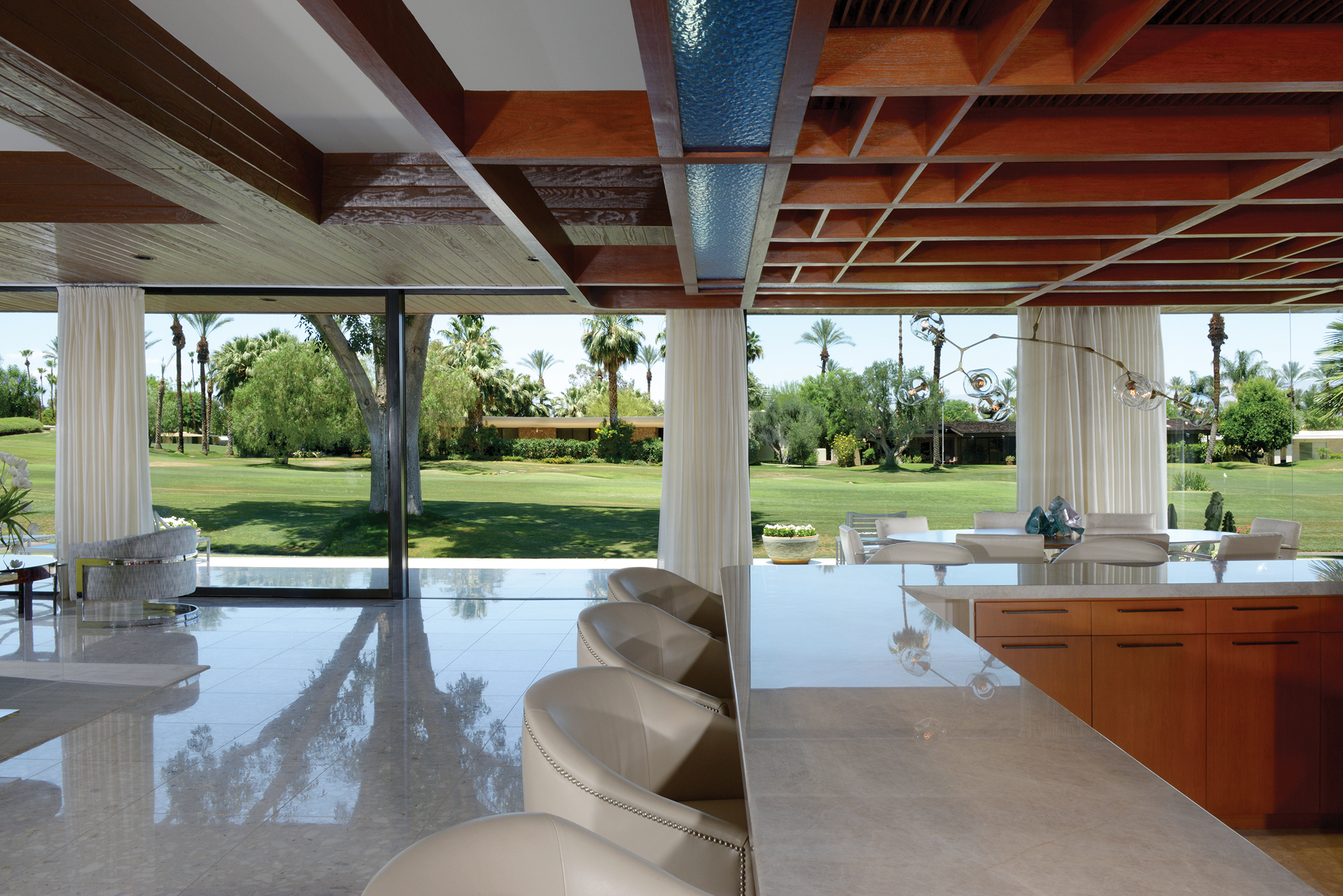 1973 Palm Springs home