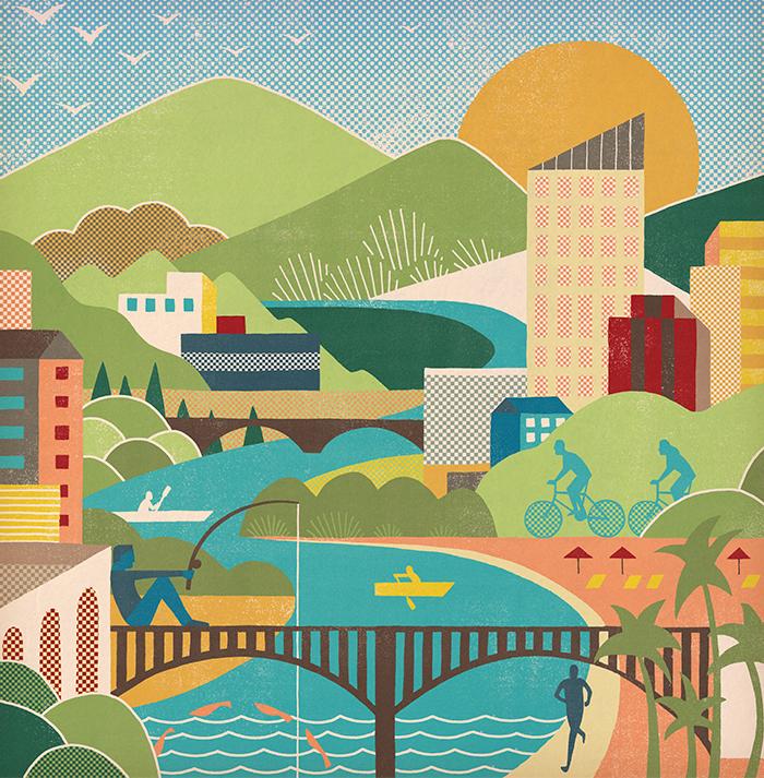 Urban waterways